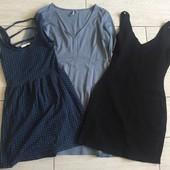 Лот из 3 платьев, размер S