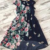 Нарядное платье для девочки 104-110