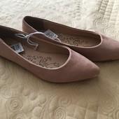 Туфли балетки 37-38 размер