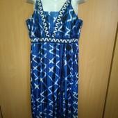 Нарядное платье bonprix красивый принт 58размера Bonprix