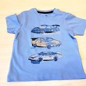 костюм на літо для любителя машинок)) бренд lupilu Германія. Розмір 110/116,шорти плюс футболка