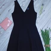 Роскошное фактурное платье Zara р-р М в отличном состоянии