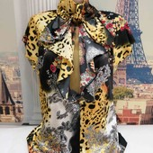 Яркая блуза, Club Donna, размер М.