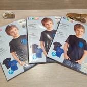 Германия!! 1 упаковка из 2 суперовых коттоновых футболок с динозаврами для мальчика! Размер на выбор