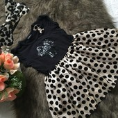 Фирменное эффектное платье на 2-3 года, обруч в комплекте. Есть замеры.