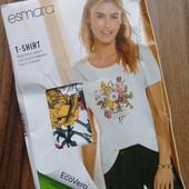 нежная футболка от Esmara (в составе вискоза)