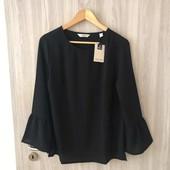 ☘ Классическая блуза с рукавами воланами от Tchibo(Германия), наши размеры: 46-48 (40 евро)