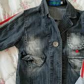 джинсовая курточка для ребёночка