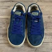 Замшевые кроссовки Puma оригинал 36 размер стелька 22,5 см