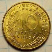 10 сантимов 1975 год Франция