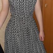 Платье в котиках S нюанс