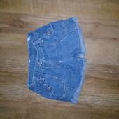 Джинсовые шорты matalan на 4-5 лет