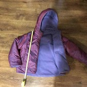 Теплая курточка хамелеон на девочку 5-7 лет