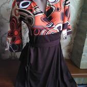 Женское трикотажное платье Lm Lulu, производитель Франция. Размер L 46-48.
