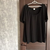Фирменная коттоновая блуза-футболка в состоянии новой вещи р.26-28
