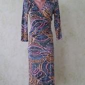 Классное платье по фигуре из вискозы