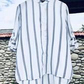 Модная рубашечка в полоску.качество!!!