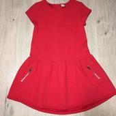 Классное фактурное платьице TU на малышку 5-6 лет