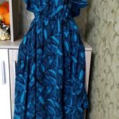Собираем лоты!! Фирменное платье на пышную красу, размер 22/50,100%котон (Индия)