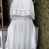 Собираем лоты!! Платье жатка с плечами на пышную красу, размер 20/48/46,100 %вискоза