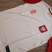 Польша! Оригинальная футболка, Сборная Польши! Размер 152 см.