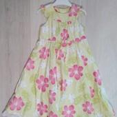 Платье Abella в идеальном состоянии на возраст 5-6 лет