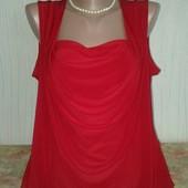 Шикарная женская блузка р.20!!!