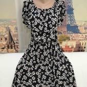 Платье верх с воланом, Next, размер М - L.