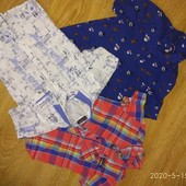 Рубашки х/б для мальчика 6-8 лет