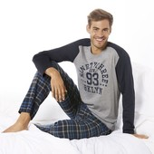 Шикарная пижама , домашний костюм , Livergy , Германия , брюки фланель,размер ХXL , наш 60 - 62
