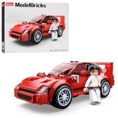 Конструктор sluban - машинка + фигурка, 163 деталей! (аналог Lego) в лоте фото №1