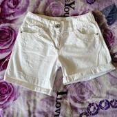 Шорты джинсовые белые