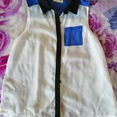Шифоновая блузка, можно в школу