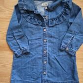 Платье джинсовое 3 года.