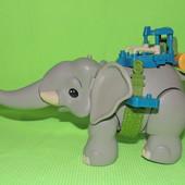 большой слон Диего Лондон нюанс 34х20 см