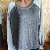 Женский очень мягкий свитшот в идеале, размер 52-54 (евро 46-48)