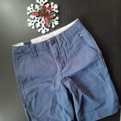 Нові, стильні, котонові шорти GapKids, 7 років, талія регулюється, заміри!