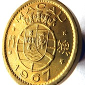 монета Макао 5 аво, 1967