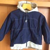 Куртка, ветровка, размер 4 года 104 см. Hummelsheim. состояние отл. мяч