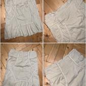 Рубашка стрейч котон + юбка котон в идеальном состоянии! Замеры