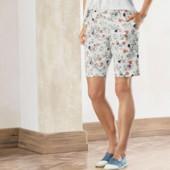 Женские шорты бермуды из твила esmara размер евро 42