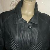 Натуральная кожа женская куртка размер 48-50