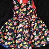 Яркое платье Jasper Conran рост 104, состояние нового