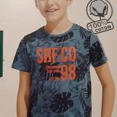 Футболка на мальчика 158/164,100% хлопок