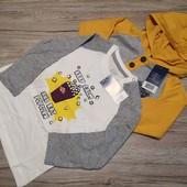 Германия! Реглга + кофта с капюшоном на малыша! 86-92 см. 12-24 м.
