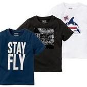 Германия! Крутые футболочки на мальчика, 2 шт в лоте. Размер 86-82 см.12-24 М.