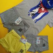 Лот брендовых футболок, 140-152