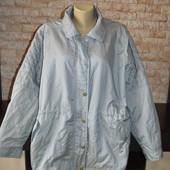 Легенька куртка на пишну красу 58 розмір