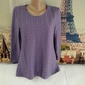 Блуза лавандового цвета, Eastex, размер М - L.