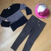 Модные джегинсы H&M и нежная кофта Red&Green. Супер лот на весну